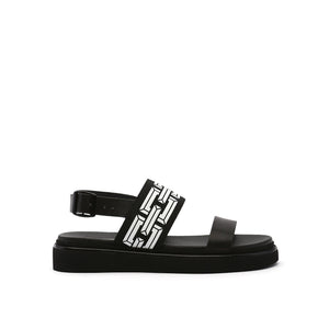 pop sandal lo black out view
