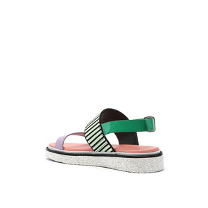 pop sandal lo pastel angle in view