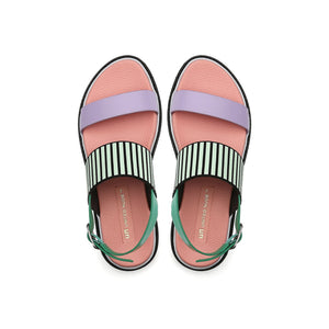 pop sandal lo pastel top view