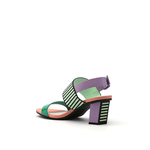 pop sandal mid pastel angle in view