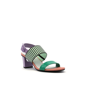 pop sandal mid pastel angle out view