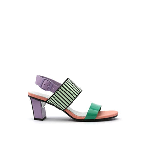 pop sandal mid pastel out view