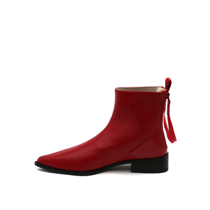 Pure Bootie | Deep Red