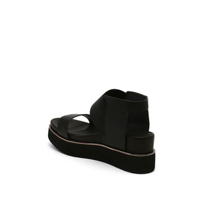 rico sandal black mix angle in view