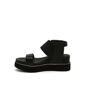 rico sandal black mix in view