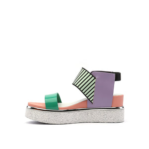rico sandal pastel in view