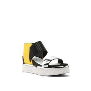 rico sandal yellow mix angle out view