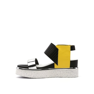rico sandal yellow mix in view
