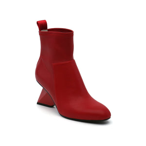 rockit pure bootie deep red angle out