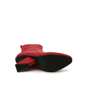 rockit pure bootie deep red bottom