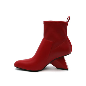 rockit pure bootie deep red in