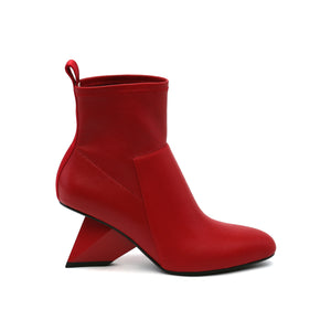 rockit pure bootie deep red out