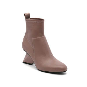 rockit pure bootie dusty pink angle out