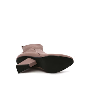 rockit pure bootie dusty pink bottom