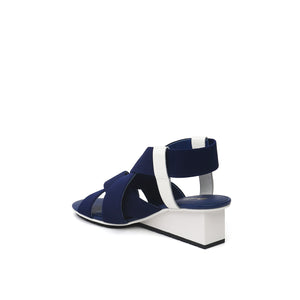 solid xx mid navy mix angle in view