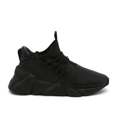 space kick bold mens black out view