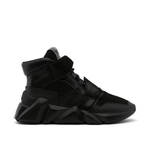 space kick jet hi mens black out view