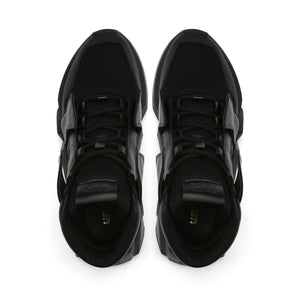 space kick jet hi mens black top view