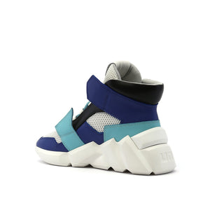 space kick jet hi mens summer blue angle in view