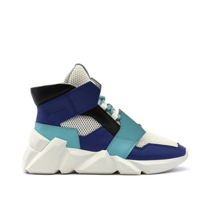 space kick jet hi mens summer blue out view
