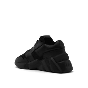 space kick jet lo mens black angle in view