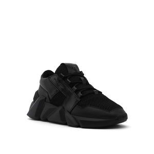 space kick jet lo mens black angle out view