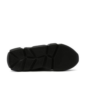 space kick jet lo mens black bottom view
