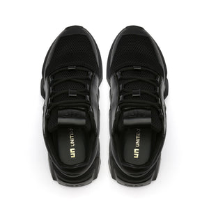 space kick jet lo mens black top view