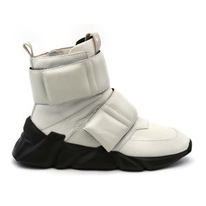 space kick stout mens white out