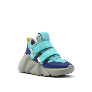 space kick womens summer blue angle out view