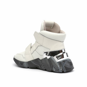 space kick jet hi mens off white angle in view