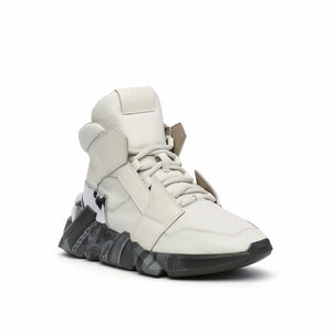 space kick jet hi mens off white angle out view