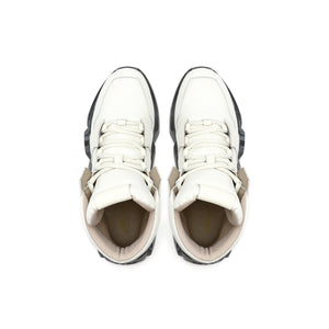 space kick jet hi mens off white top view