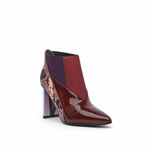 spark bootie hi burgundy angle out view