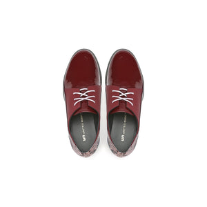 spark derby burgundy top view