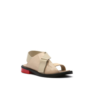 square sandal lo nude angle out view
