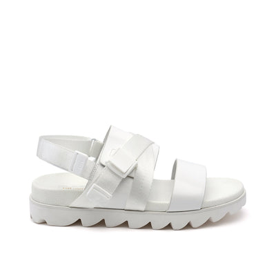tech sandal mens white out view