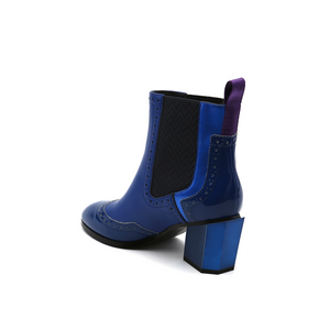 tetra chelsea boot cobalt blue angle in view