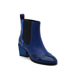 tetra chelsea boot cobalt blue angle out view