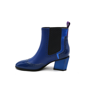 tetra chelsea boot cobalt blue in view