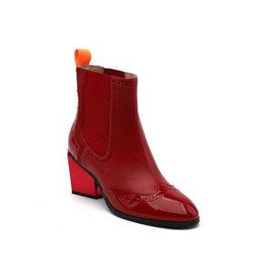Tetra Chelsea Boot | Deep Red