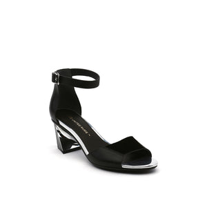 Twist Sandal | Black Mix