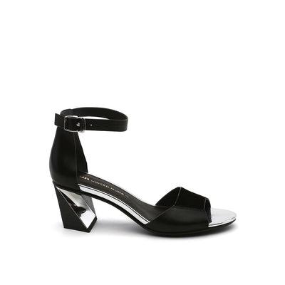 twist sandal black mix out view