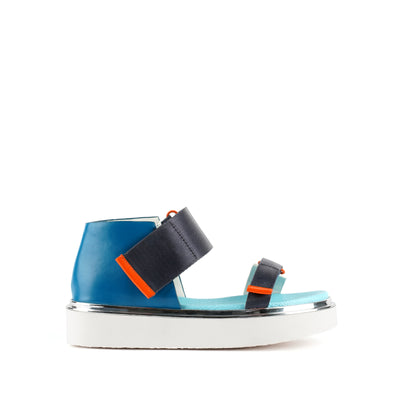 vita sandal lo blue beat out view