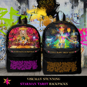 STARMAN TAROT BACKPACKS