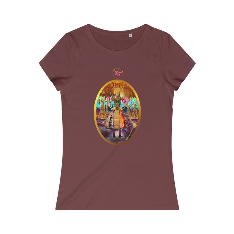 STARWOMAN - QUEEN of WANDS - Women's Organic Tee