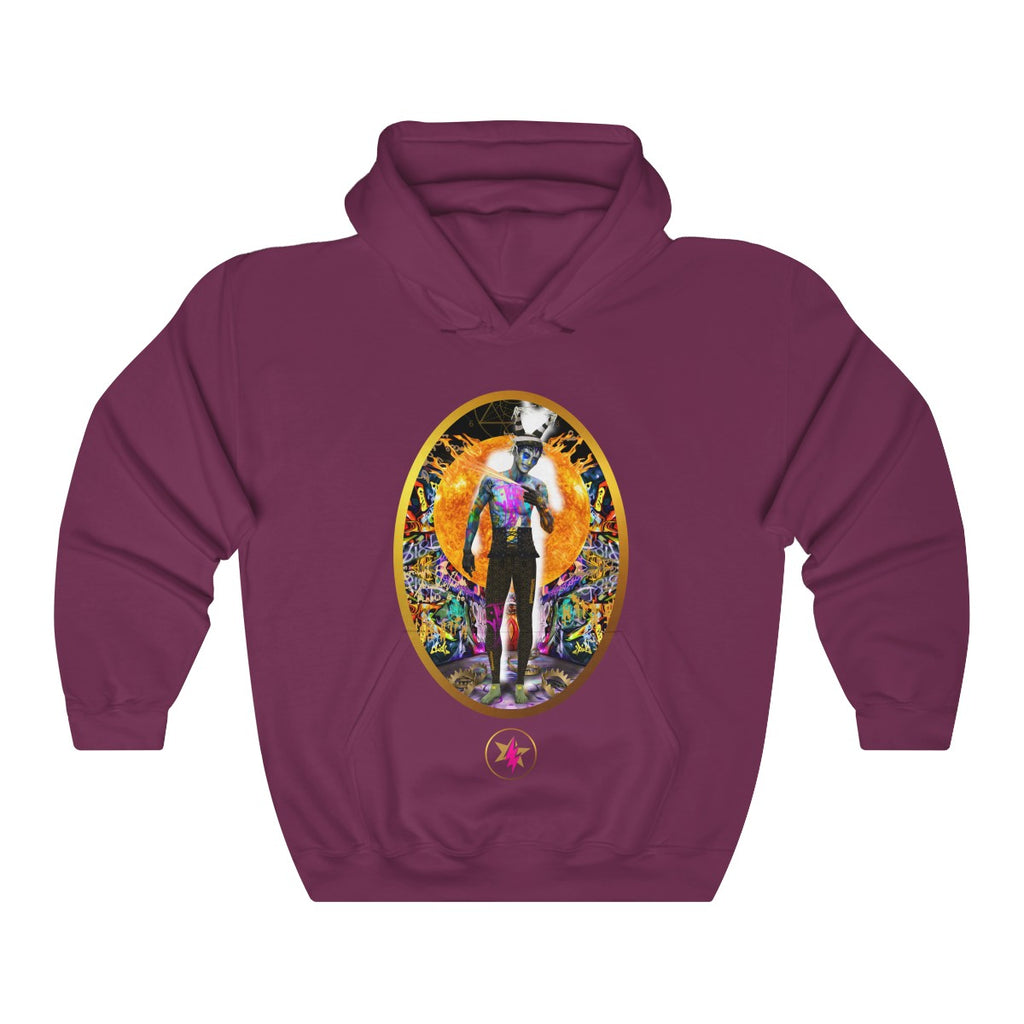 STARMAN - SACRED CLOWN - Heavy Blend™ Hooded Sweatshirt