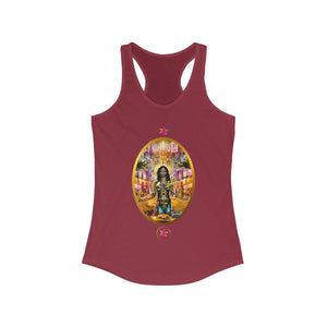 STARWOMAN - THE WORLD - Racerback Tank Tee