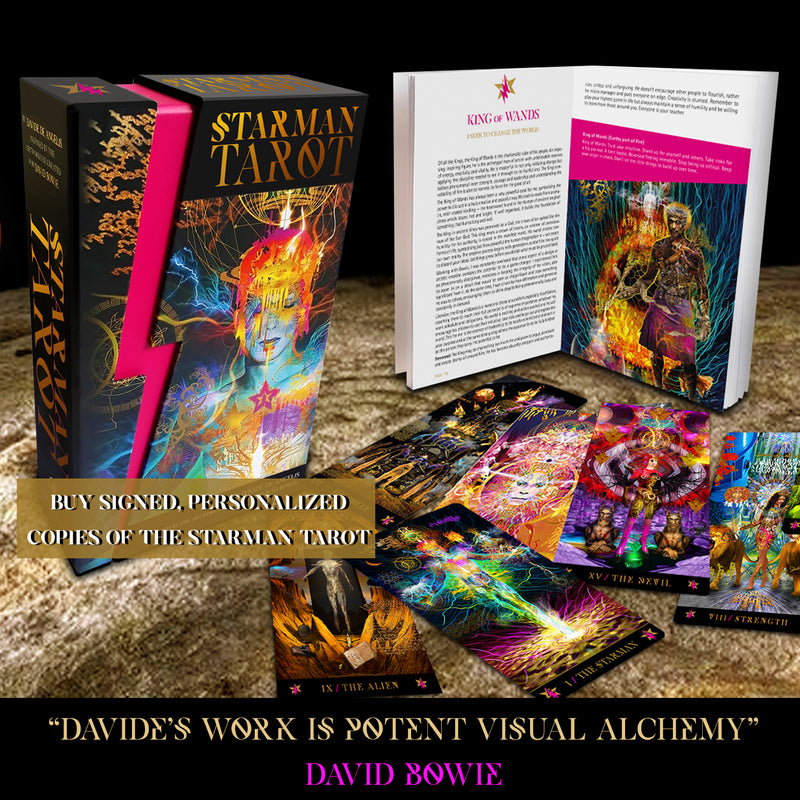 SIGNED & PERSONALIZED STARMAN TAROT DECKS