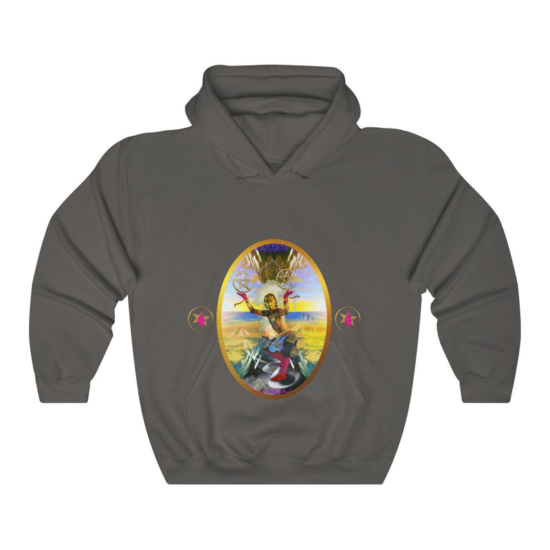 STARMAN -TWO of PENTACLES - Heavy Blend™ Hooded Sweatshirt